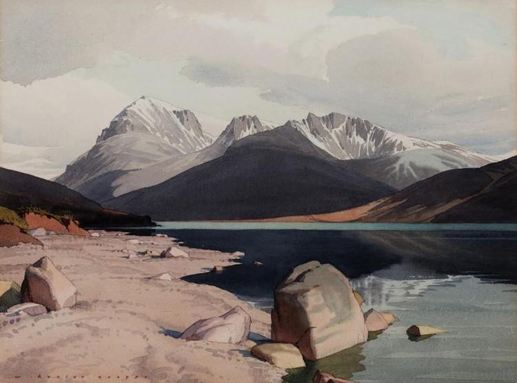 WILLIAM HEATON COOPER, 1903-1995 ENNERDALE WATER, CUMBRIA