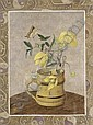 MAXWELL ASHBY ARMFIELD, R.W.S., 1882-1972 YELLOW CLEMATIS, Maxwell Ashby Armfield, Click for value