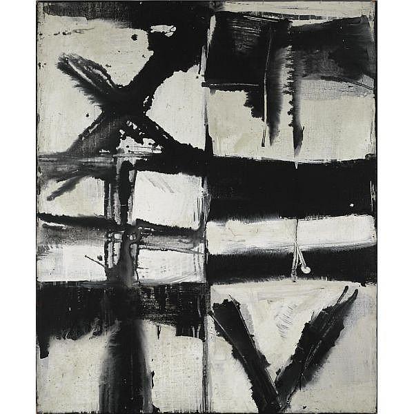 m - J.C.J. van der Heyden (born 1928) , Jacobsladder oil on canvas