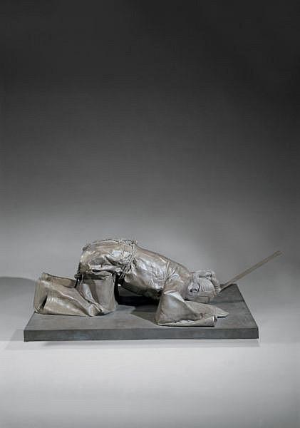 Cai Zhisong , B. 1972 Motherland: Ballad No.2 bronze