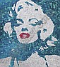 Xue Song , b. 1965   Marilyn Monroe mixed media on canvas     , Song Xue, Click for value