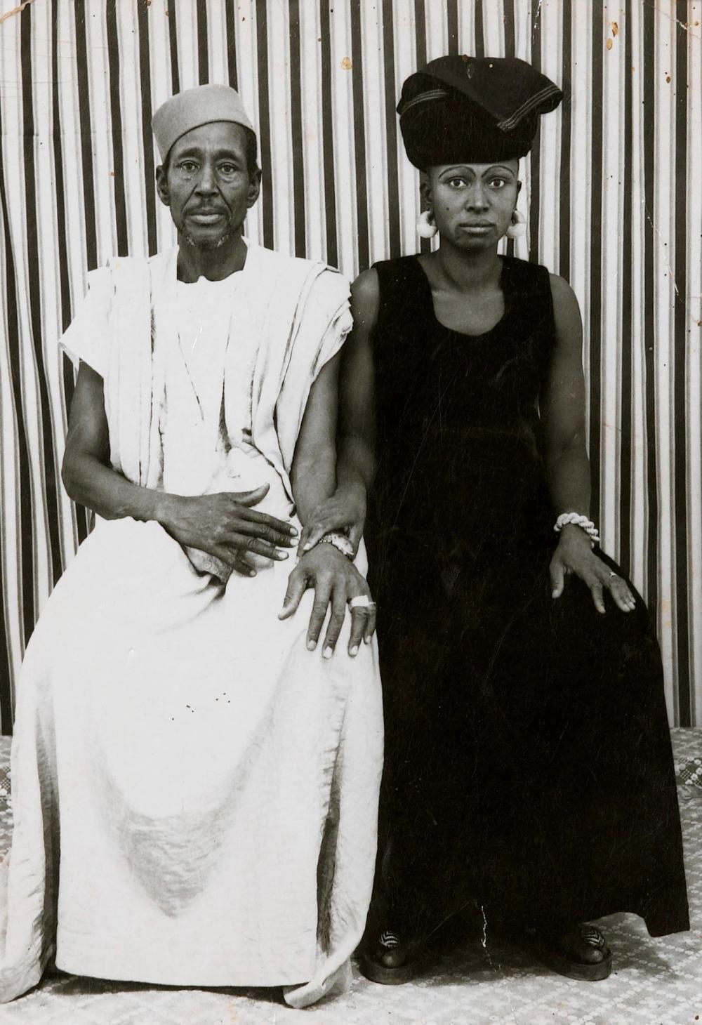 MALICK SIDIBÉ   Untitled, (un couple) 1976