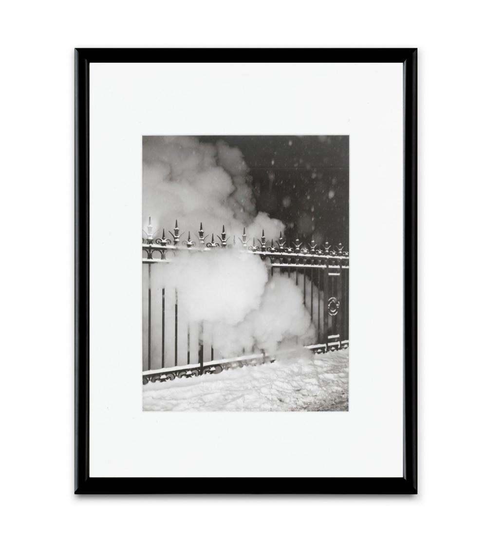 RENE-JACQUES | Grille et fumée, Saint-Lazare,circa 1945
