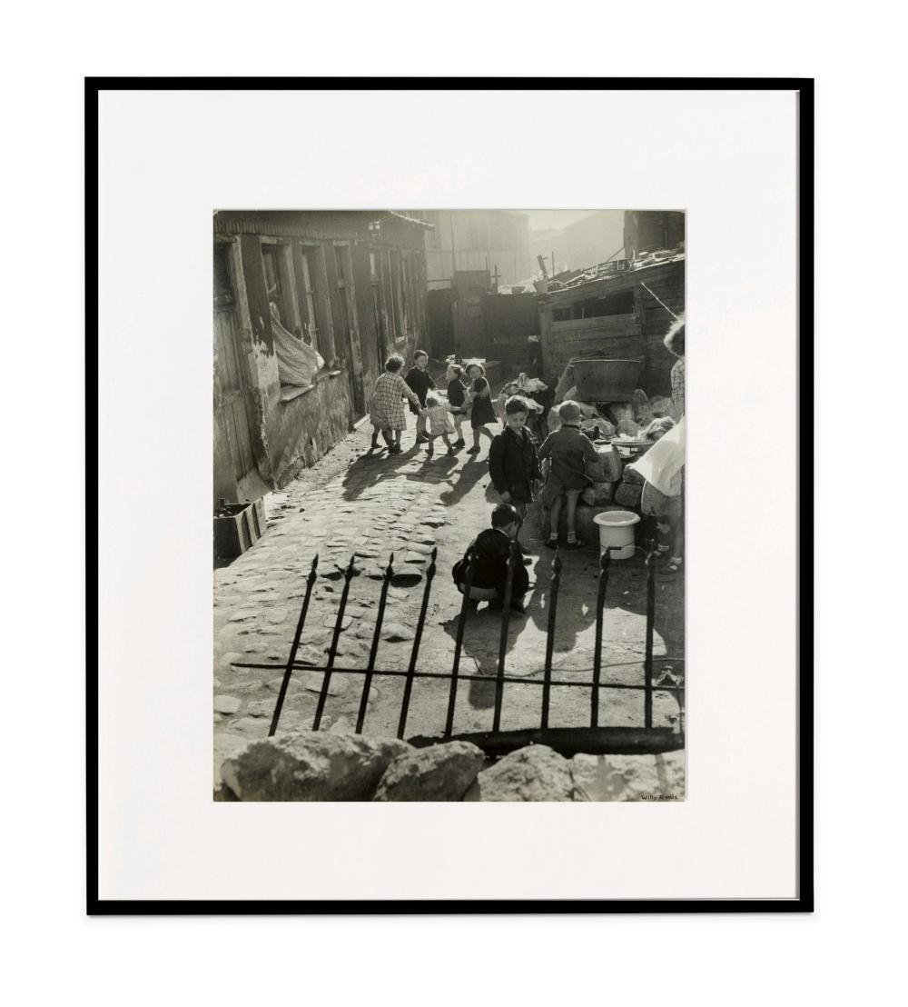 WILLY RONIS |  Aubervilliers, 1950