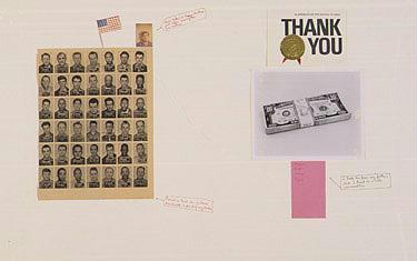 Chris Burden b.1946 (i) Thank You and (ii) Breakthrough (i)signed, titled and dated 1979 (ii)signed,...