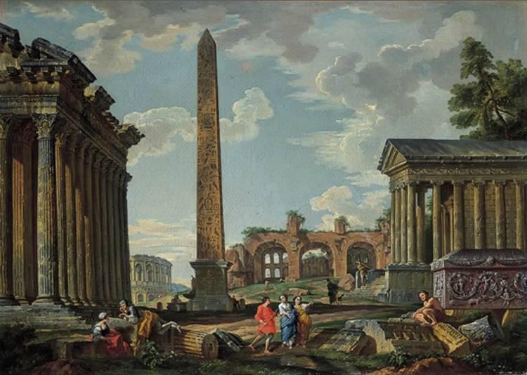 GIAN PAOLO PANINI PIACENZA 1691-1765 ROMA