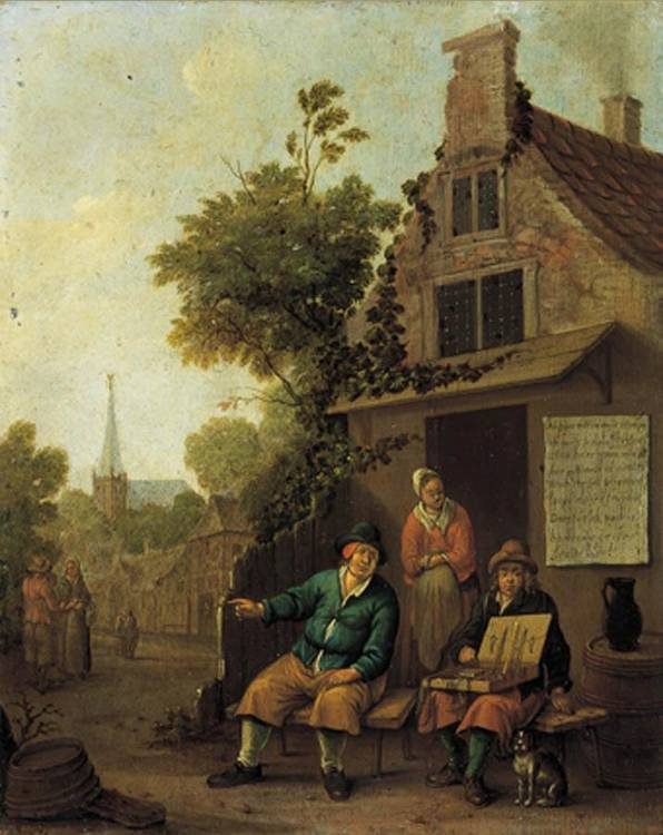 THOMAS WYCK BEWERWYCK 1616 C.-1677 HAARLEM