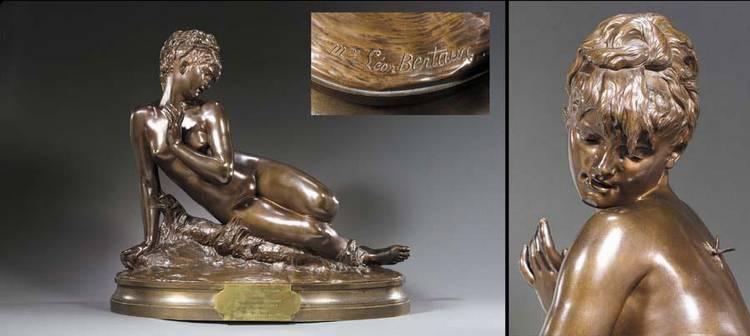 MME LÉON BERTAUX, NÉE HÉLÉNA HÉBERT FRENCH, 1825-1909