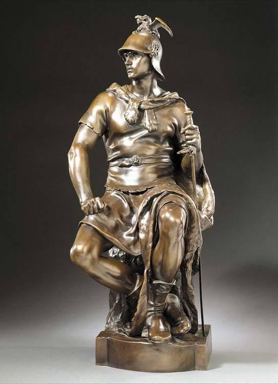 PAUL DUBOIS FRENCH, 1827-1905