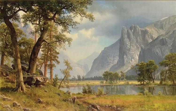 l - * ALBERT BIERSTADT 1830-1902