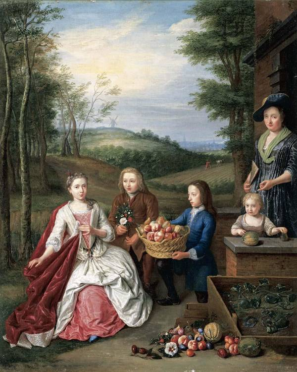 PETER SNIJERS ANTWERP 1681 - 1752