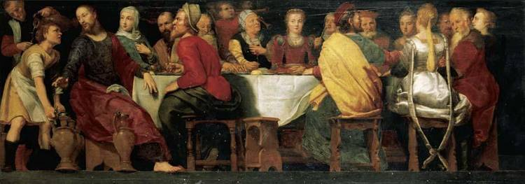 STUDIO OF ADAM VAN NOORT ANTWERP 1561 - 1641