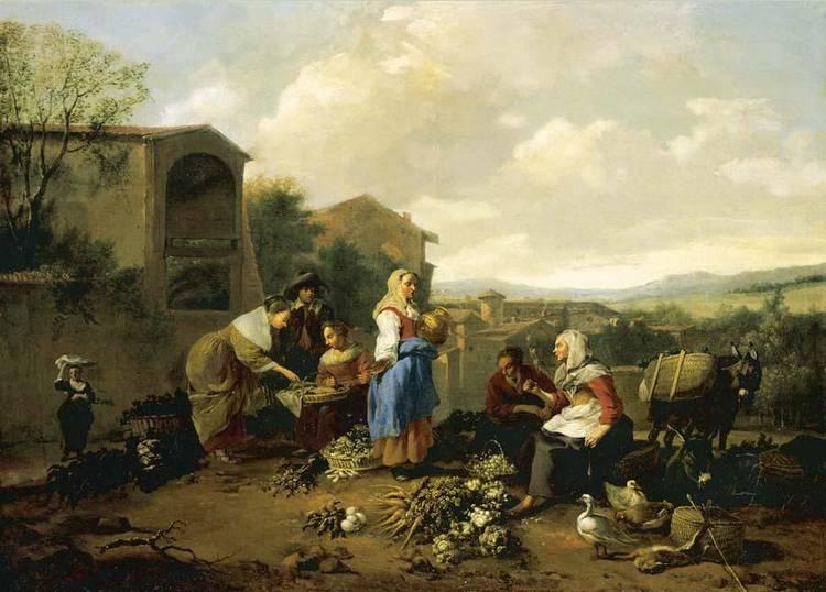 HENDRIK MOMMERS HAARLEM 1623 - 1693 AMSTERDAM