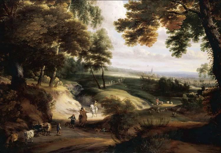 JACQUES D'ARTHOIS BRUSSELS 1613 - 1686