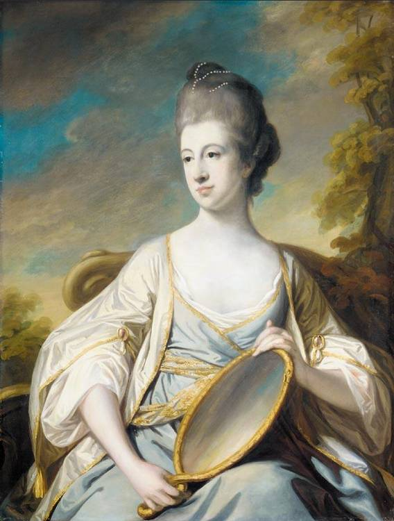 VARIOUS PROPERTIES FRANCIS COTES R.A. 1726-1770 PORTRAIT OF MARY DERING, DAUGHTER OF SIR EDWARD