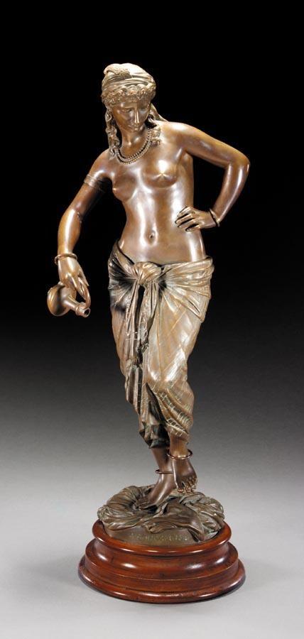 w - BARON CHARLES-ARTHUR BOURGEOIS, FRENCH, 1838-1886
