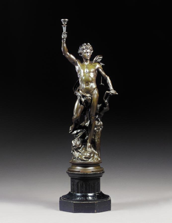 w - ADRIEN-ETIENNE GAUDEZ, FRENCH, 1845-1902