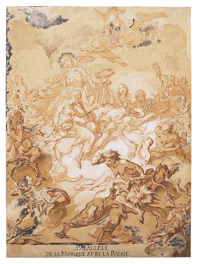 * MICHEL-FRANÇOIS DANDRÉ-BARDON AIX-EN-PROVENCE 1700 - 1783 PARIS