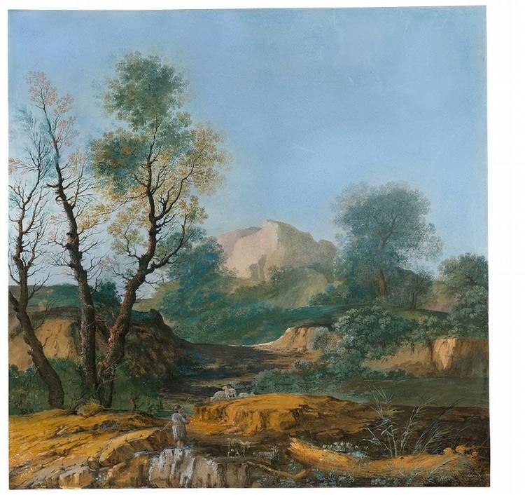 * AGOSTINO MARIA AGLIO CREMONA 1777 - 1857 (?)
