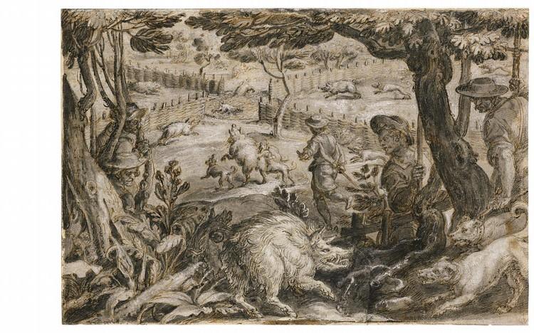 * JAN VAN DER STRAET, CALLED STRADANUS BRUGES 1523 - 1605 FLORENCE