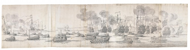 * WILLEM VAN DE VELDE THE ELDER LEIDEN 1611 - 1693 LONDON