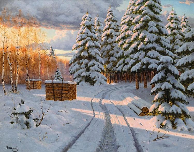 BORIS VASILIEVICH BESSONOV | Winter Landscape