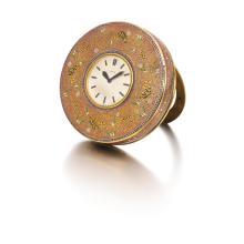 ENAMEL DESK CLOCK, CARTIER, 1930S