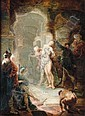 JANUARIUS ZICK MÜNCHEN-AU 1730 - 1797 EHRENBREITSTEIN THE FLAGELLATION OF CHRIST, Januarius Zick, Click for value