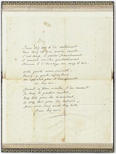 POÉSIES NOUVELLES (1840-1849) PARIS, CHARPENTIER, 1850