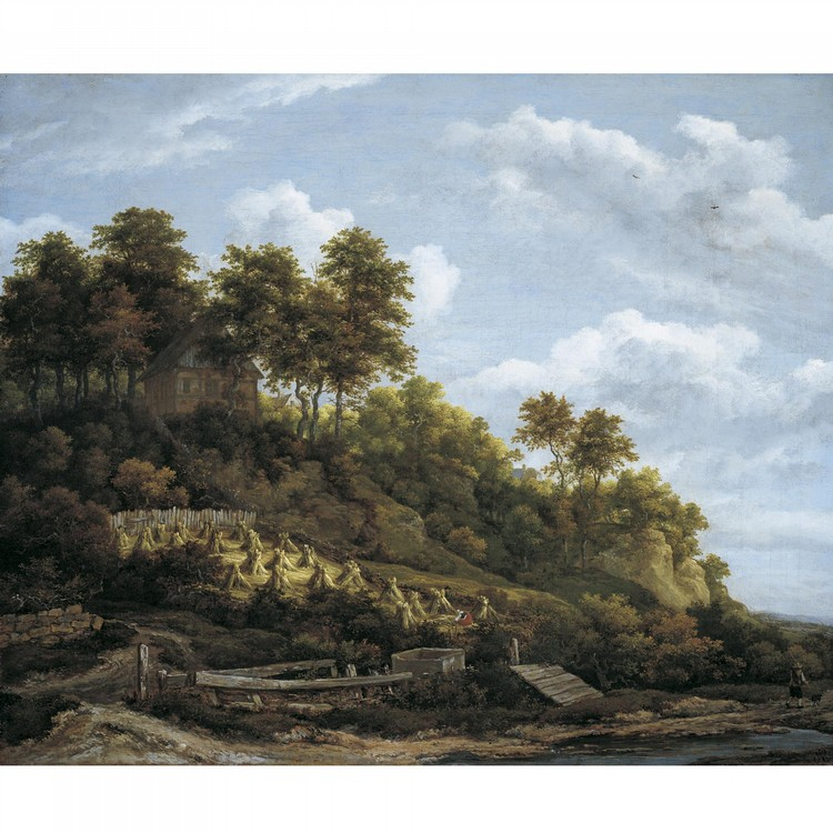 JACOB ISAACKSZ. VAN RUISDAEL HAARLEM 1628/9 - 1682 AMSTERDAM
