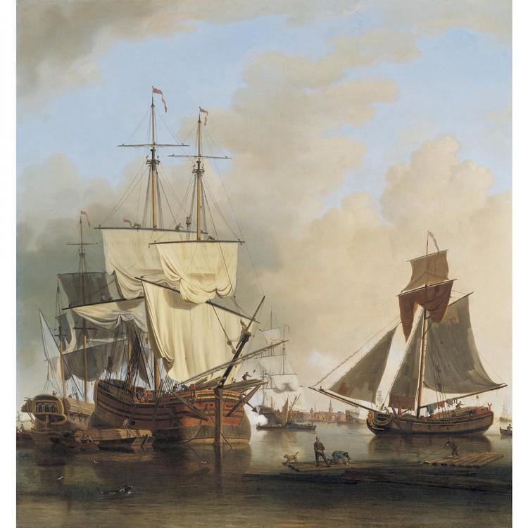 SAMUEL SCOTT LONDON CIRCA 1702-1772 BATH