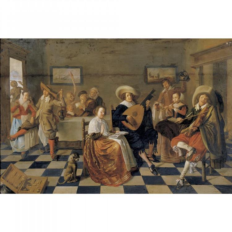 JAN MIENSE MOLENAER HAARLEM CIRCA 1610 - 1668