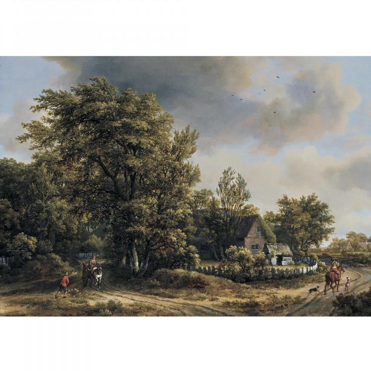 l - MEINDERT HOBBEMA AMSTERDAM 1638 - 1709