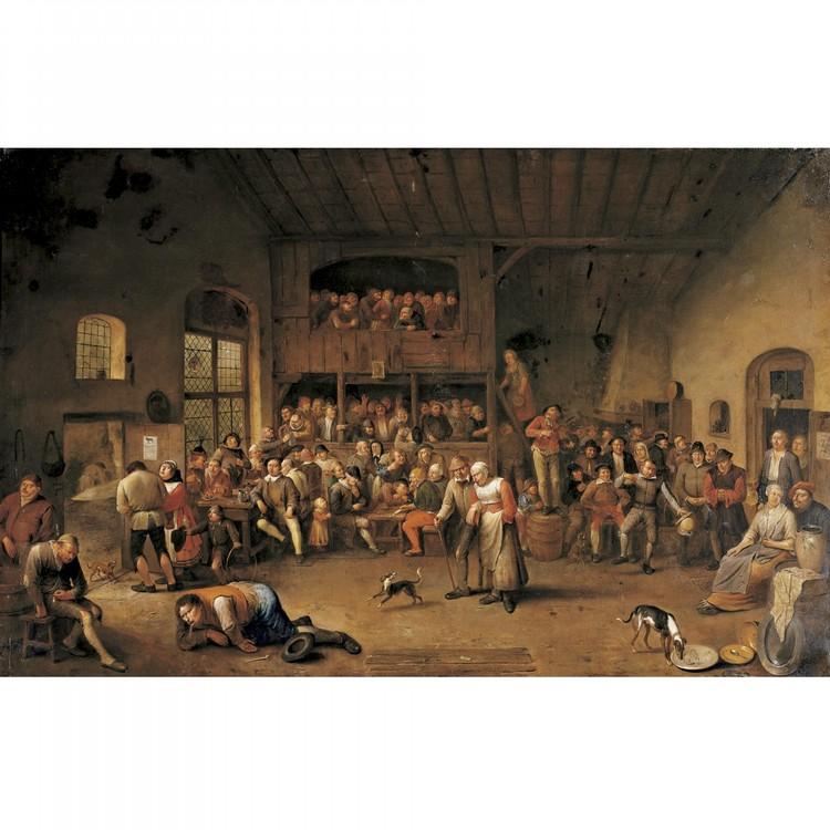 EGBERT VAN HEEMSKERCK THE ELDER HAARLEM 1634/35 - 1704 LONDON
