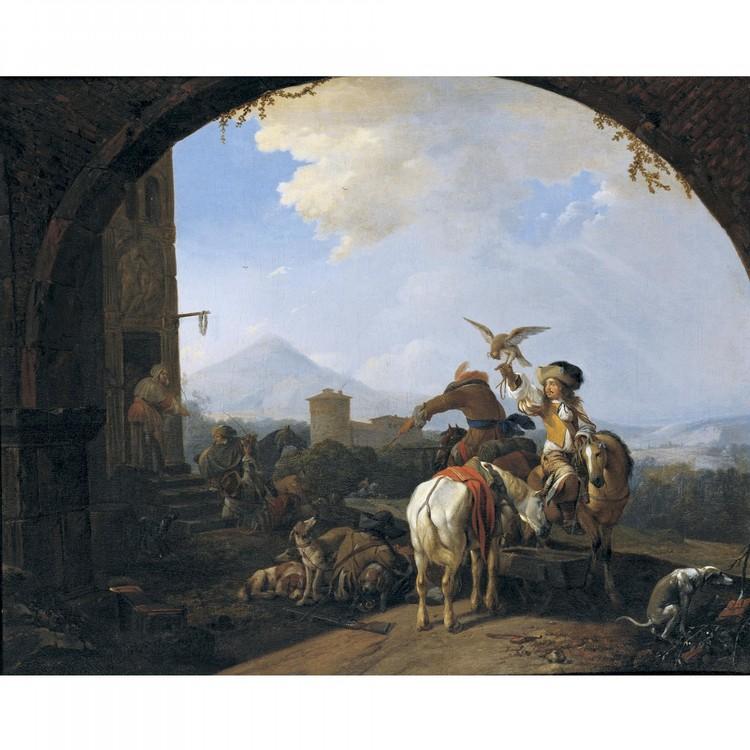 HENDRICK VERSCHURING GORINCHEM 1627 - 1690 DORDRECHT