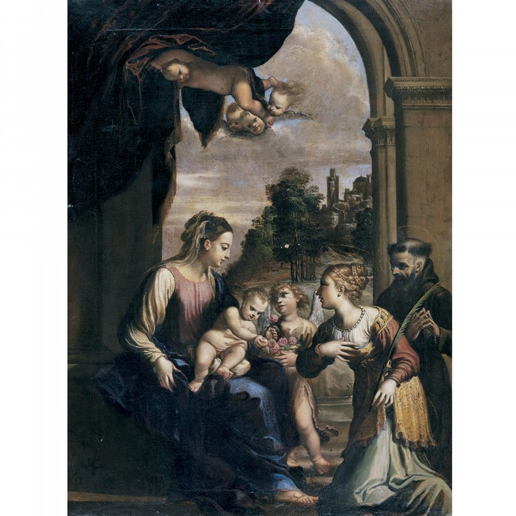 FRANCESCO BRIZIO BOLOGNA CIRCA 1574-1623
