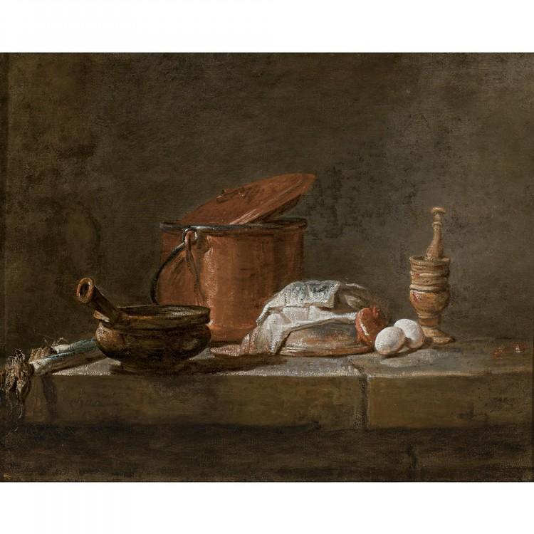 JEAN-SIMÉON CHARDIN PARIS 1699 - 1779