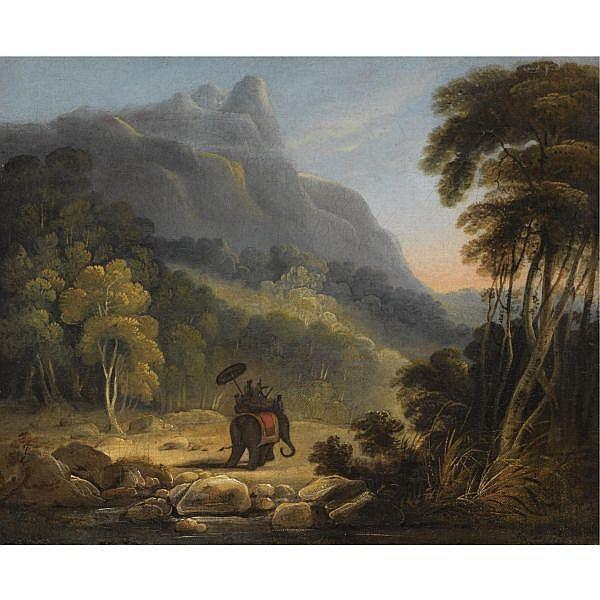 Sir Charles D'Oyly (1781-1845) , Untitled Oil on canvas