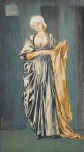 SIR EDWARD COLEY BURNE-JONES, BT.,  A.R.A., R.W.S. | Ancilla Matutina