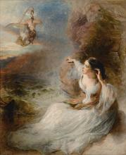 WILLIAM HUGGINS   The Poet's Vision, Canto I, Laon and Cythna