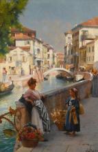 HENRY WOODS, R.A.   San Trovaso, Venice