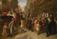 WILLIAM POWELL FRITH, R.A.   Poverty and Wealth