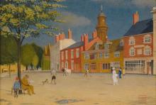 JOSEPH EDWARD SOUTHALL, R.W.S.   The Green at Banbury