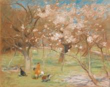 EDWARD STOTT, A.R.A.   A Spring Idyll