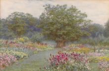 HELEN ALLINGHAM, R.W.S.   The Ancient Oak
