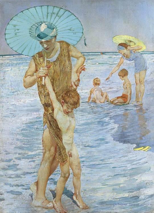 GIULIO ARISTIDE SARTORIO (ROMA 1860 - 1932)