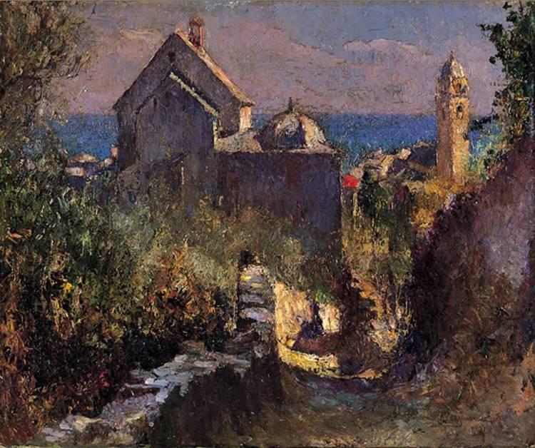 LIDIO AJMONE (COGGIOLA 1884 - ANDEZENO 1945)