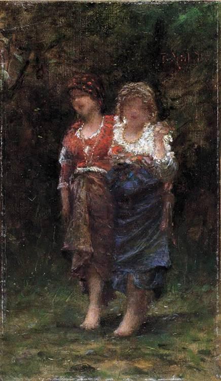 FRANCESCO PAOLO MICHETTI (TOCCO DI CASAURIA 1851 - FRANCAVILLA AL MARE 1929)