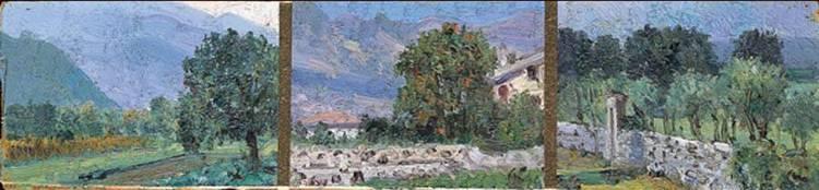 CARLO ACHILLE CAVALIERI (SOVRAMONTE 1898 - ROVERETO 1963)