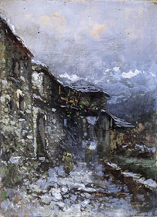 LORENZO GIGNOUS (MODENA 1862 - PORTO CERESIO 1958)
